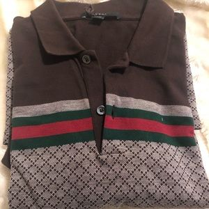Authentic Gucci Polo shirt size xxl